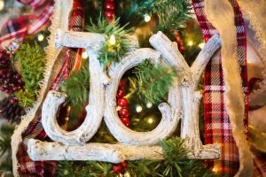 joy holiday decorations